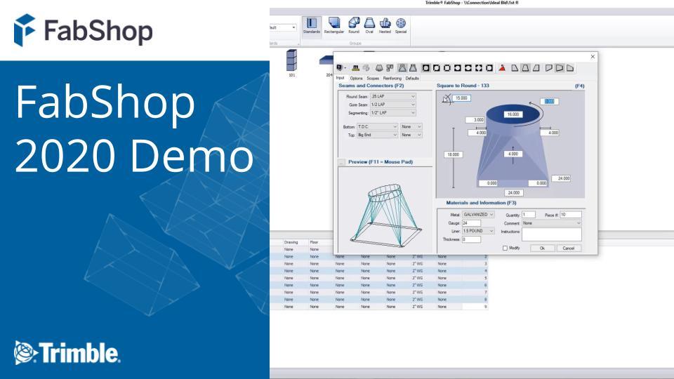 FabShop 2020 Demo