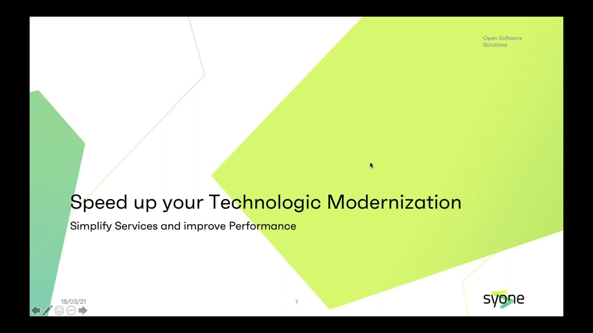 Webinar recording - Acelere a sua modernização tecnológica (SHORT)