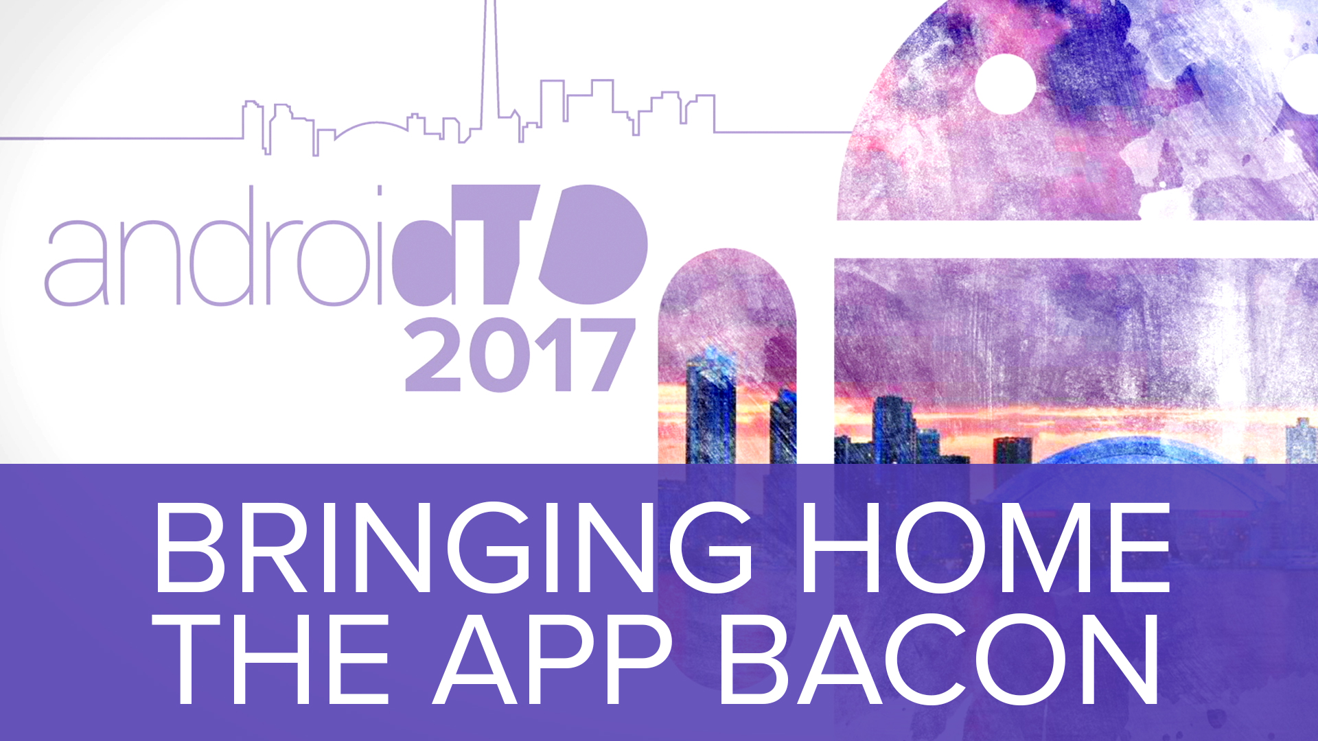 Bringing Home The App Bacon - Jeff Corcoran