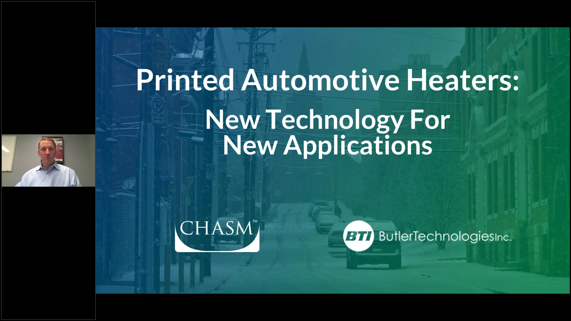 ( WEBINAR ) Printed Automotive Heaters New Technology For New Applications - Heaters