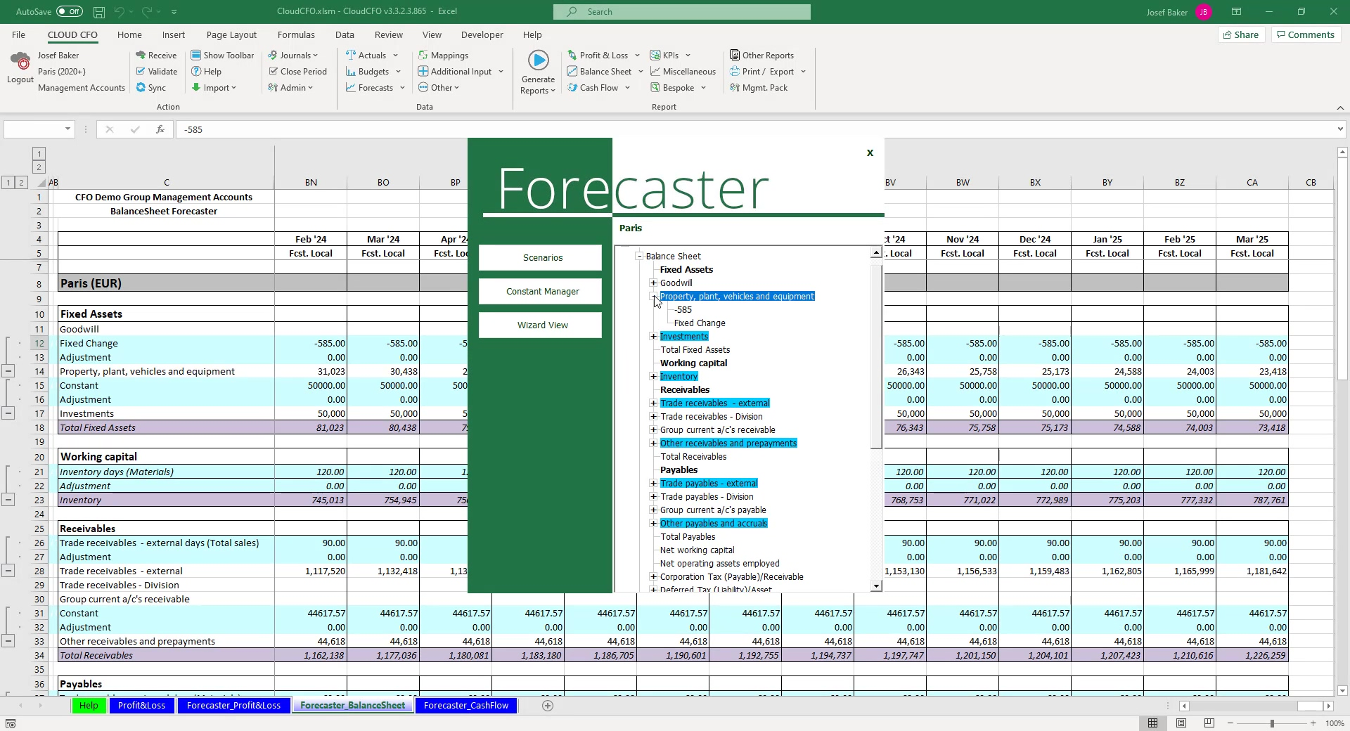 CFO_Forecaster