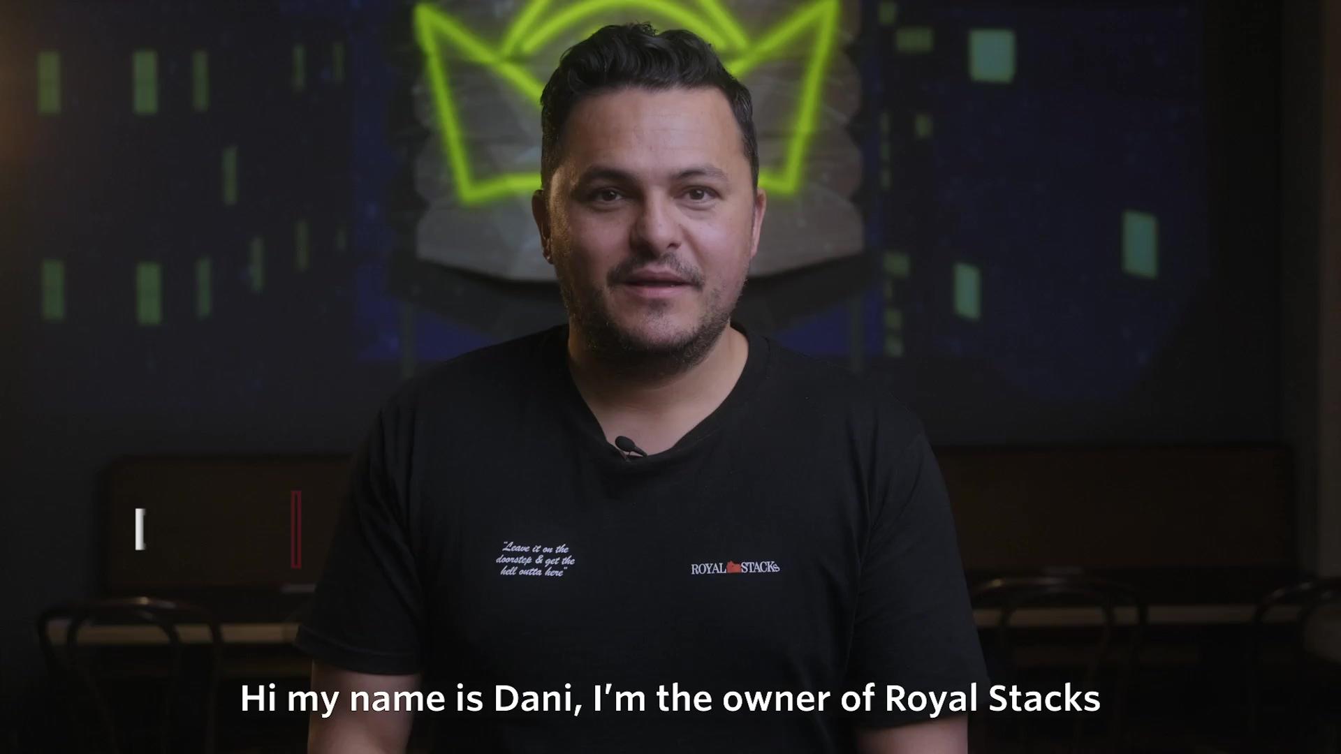 Royal Stacks Testimonial (Short - Subtitles)