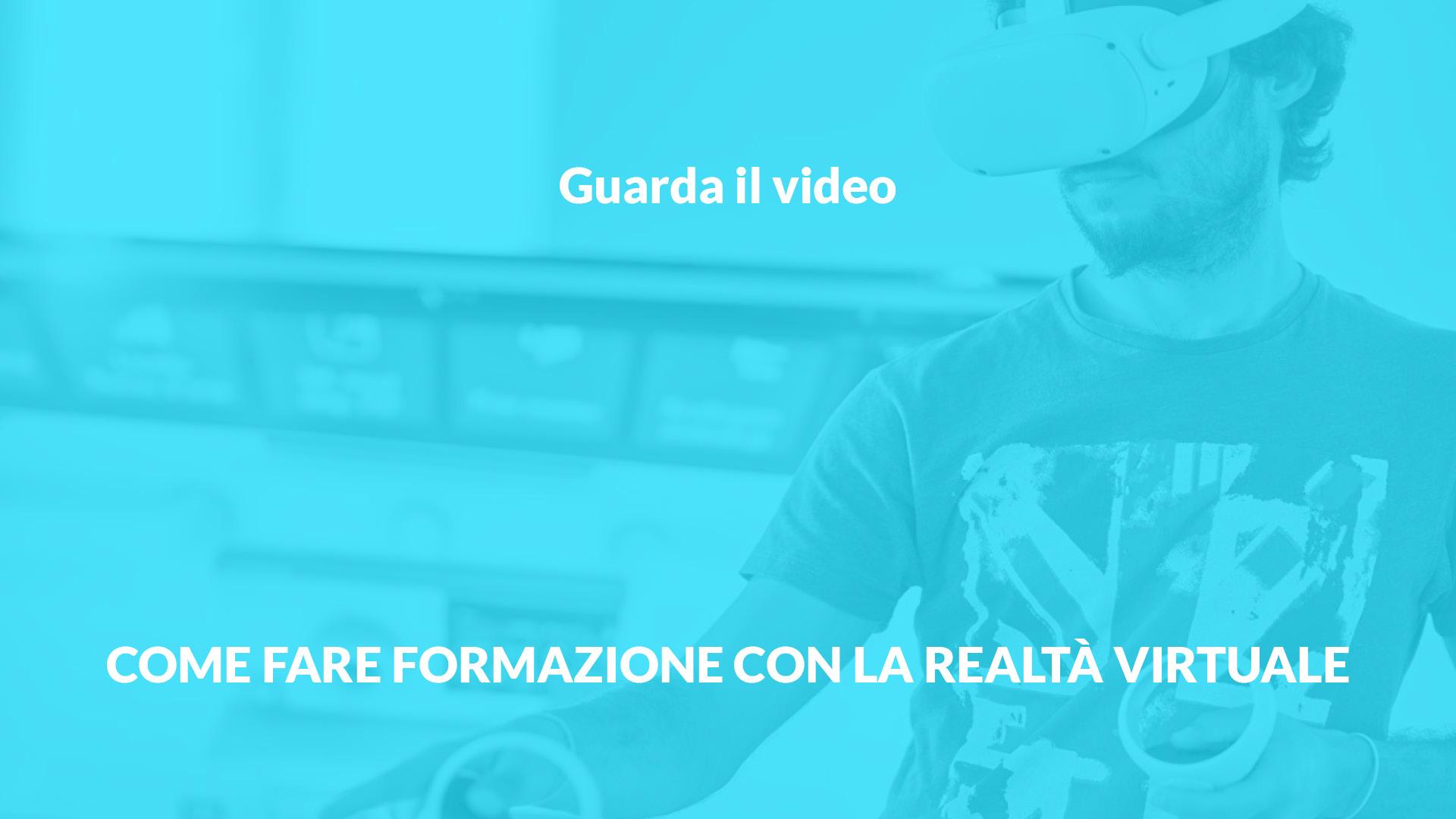 Fare formazione in VR