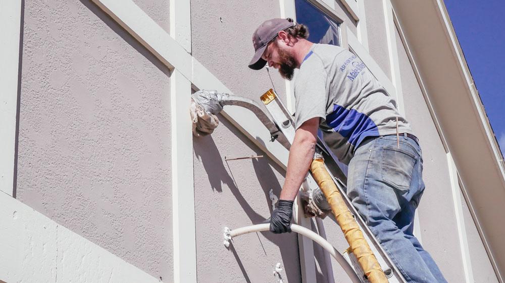 Stucco Install