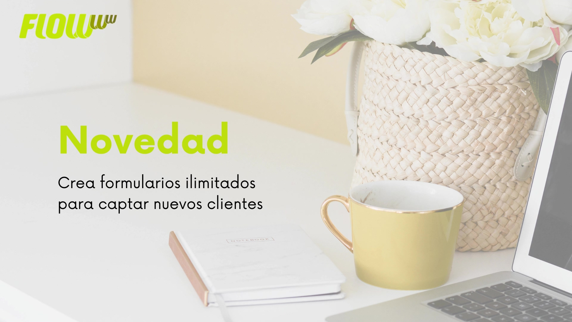 Novedades FLOWww_Crea formularios ilimitados para captar nuevos clientes