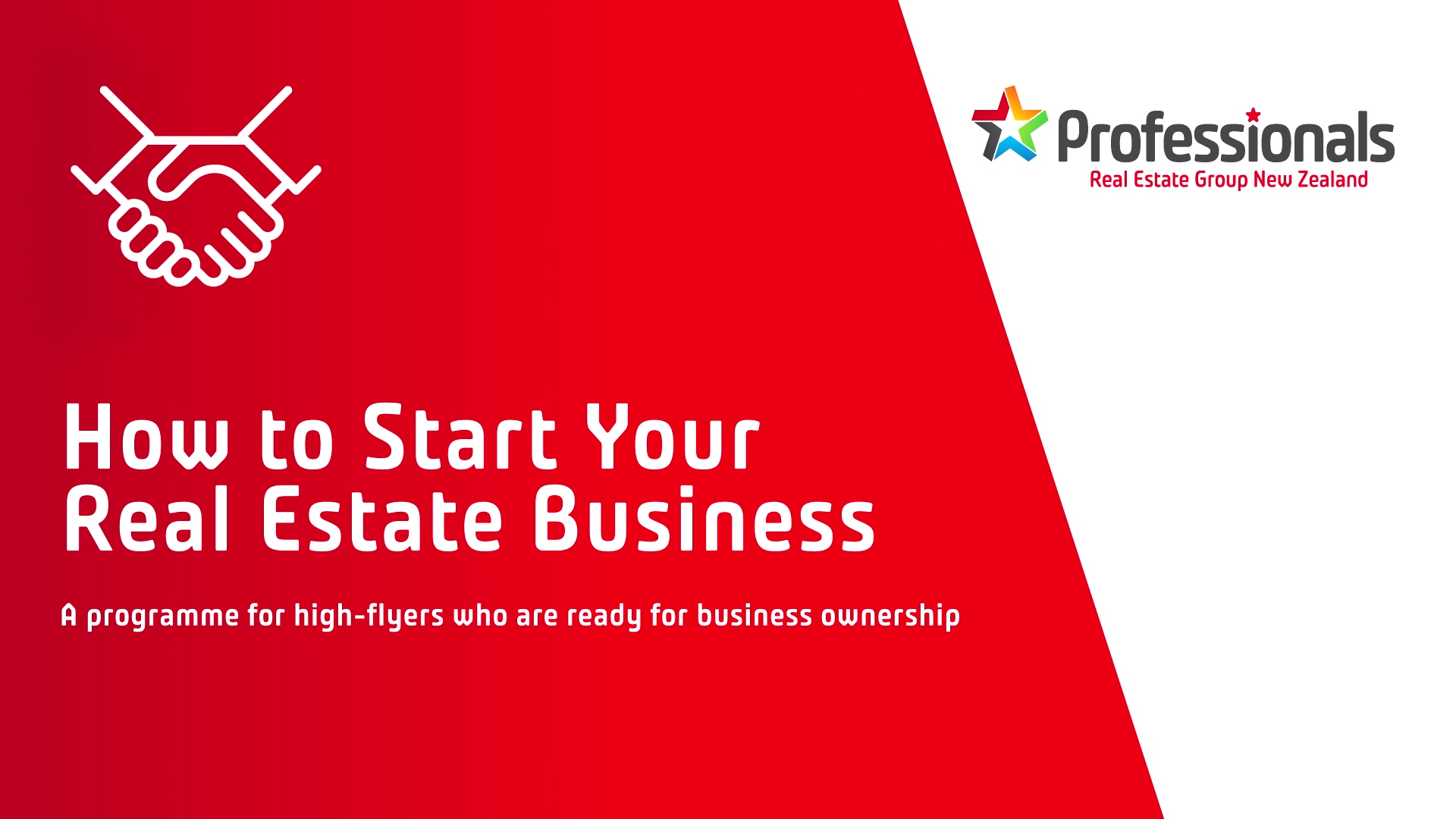 How to start your real estate business - part 1