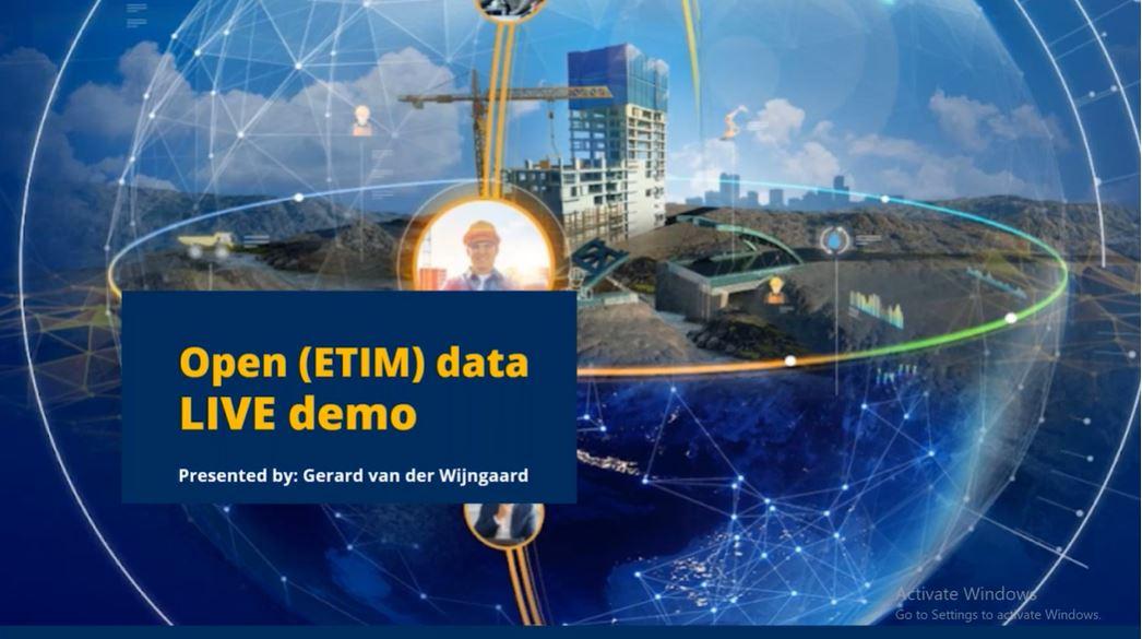 Demo: Open (ETIM) data voor de bouw, van voorontwerp tot prefab