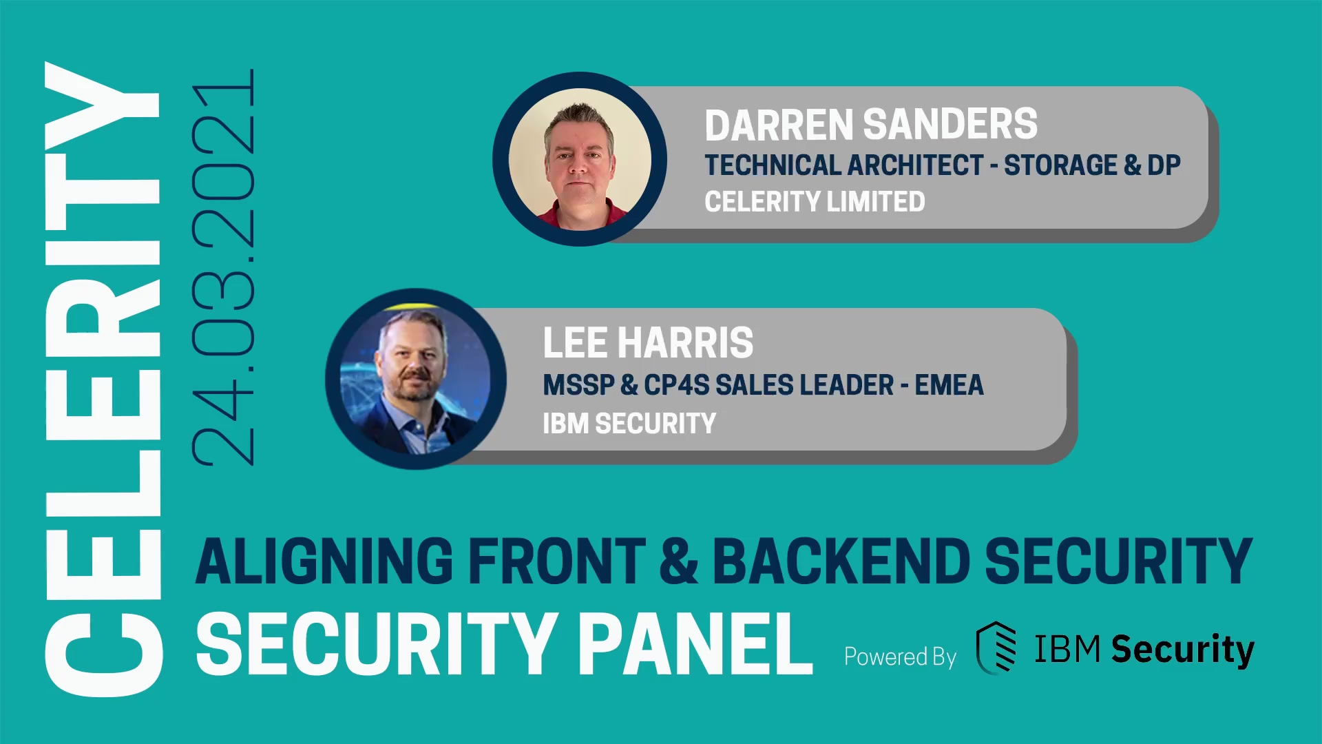 Security Panel - Aligning Front & Backend Security