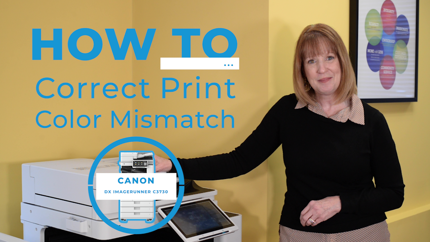 How to Correct Print Color Mismatch