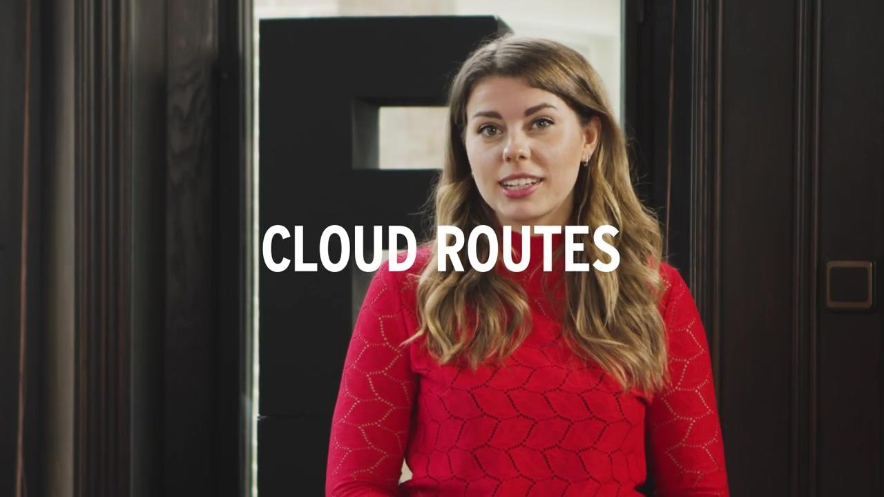 Cloud Expert Class - Verschillende Cloud-routes