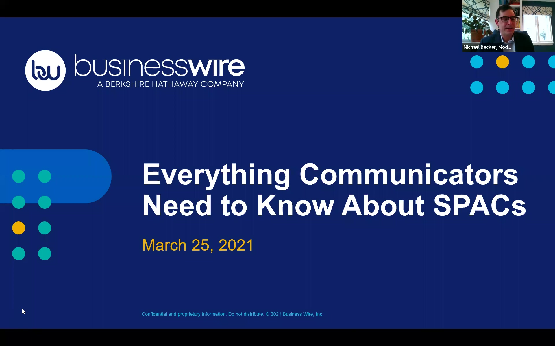 Everything Communicators Need to Know About SPACs_Business Wire Webinar