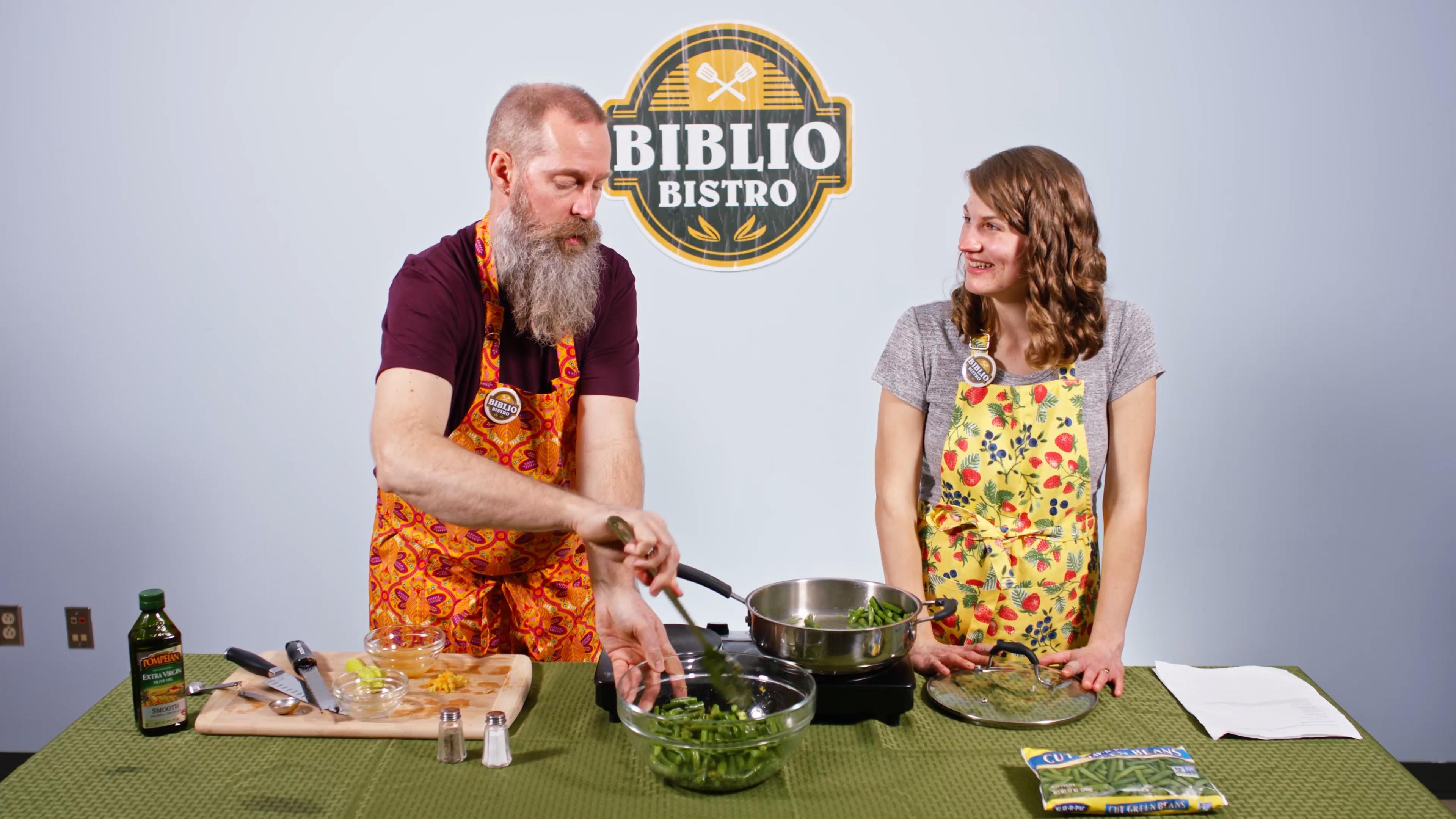 Biblio Bistro - Citrusy Green Beans