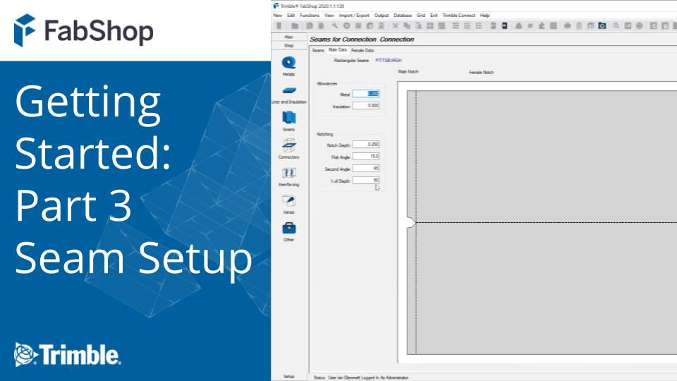 Getting Started with FabShop: Part 3 Seam Setup