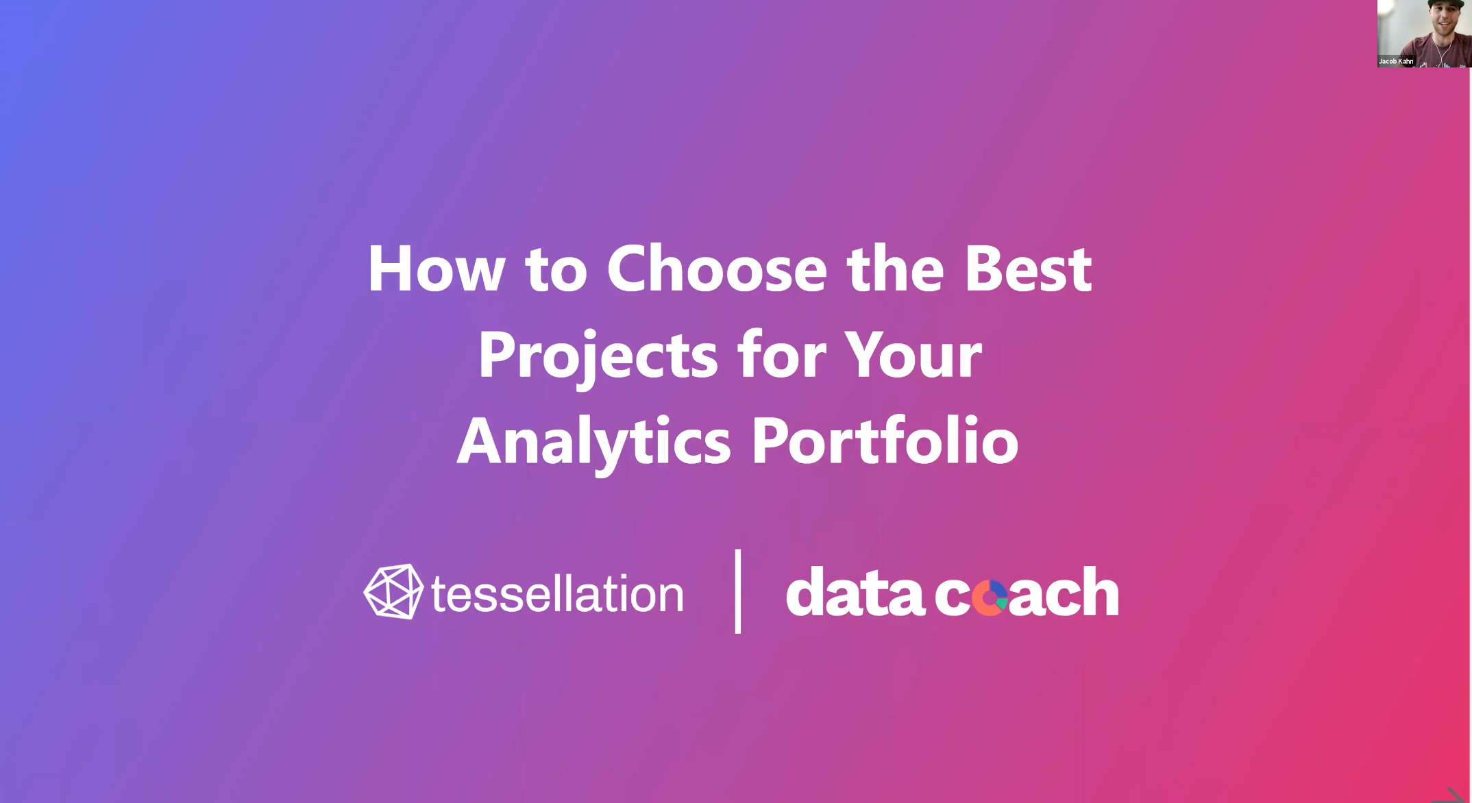 How to Choose the Best Projects for your Data Analytics Portfolio
