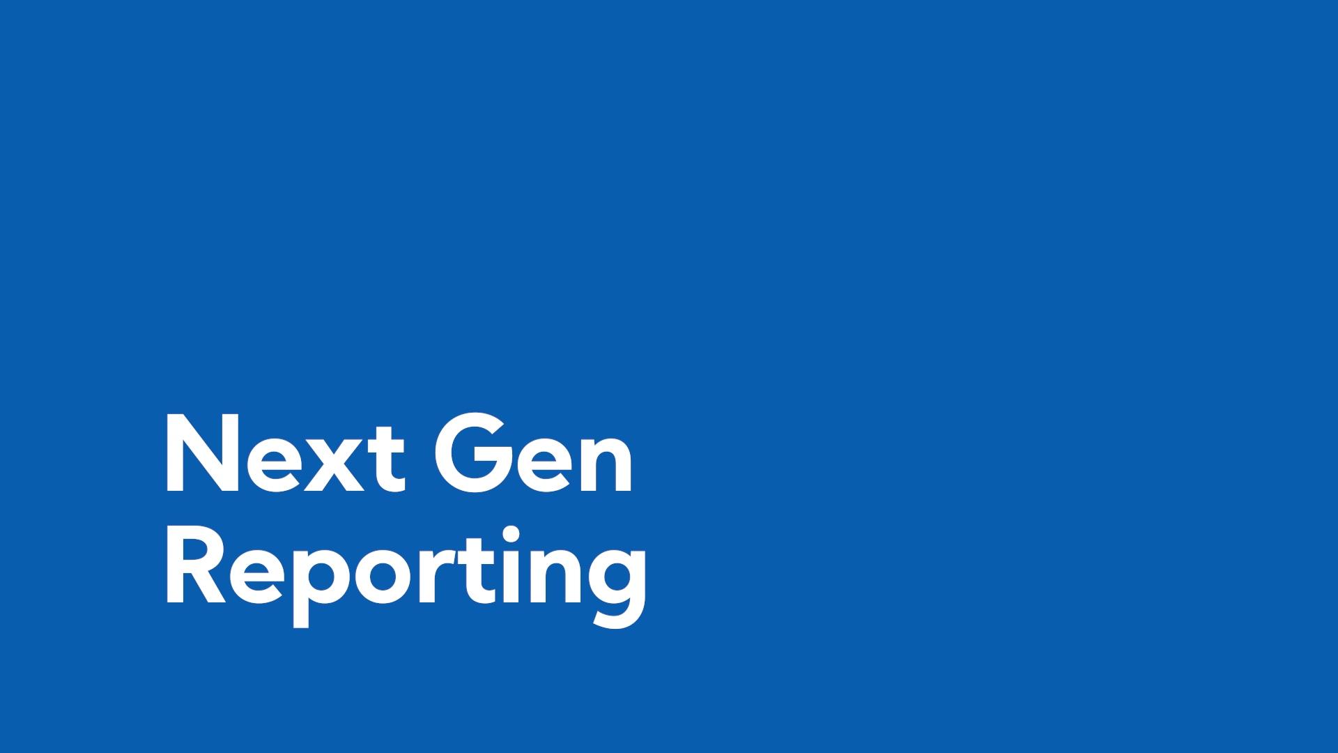 Next Gen Reports Demo-1