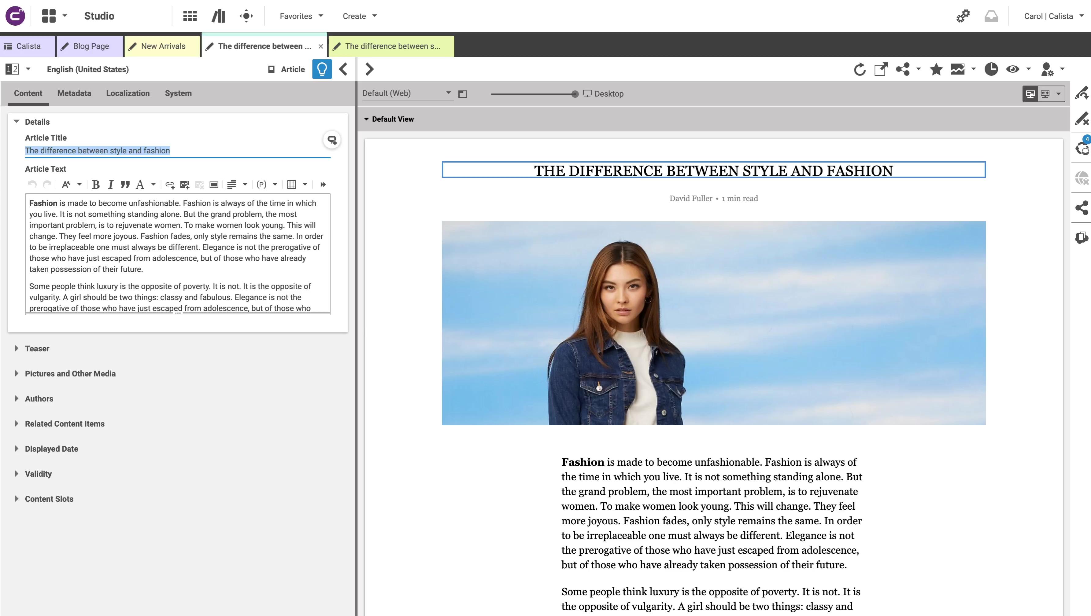 Blog Post - Synchronization