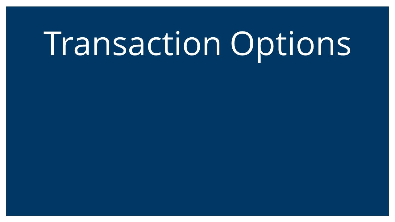 Transaction Options (Succession Planning & ESOPs Webinar)
