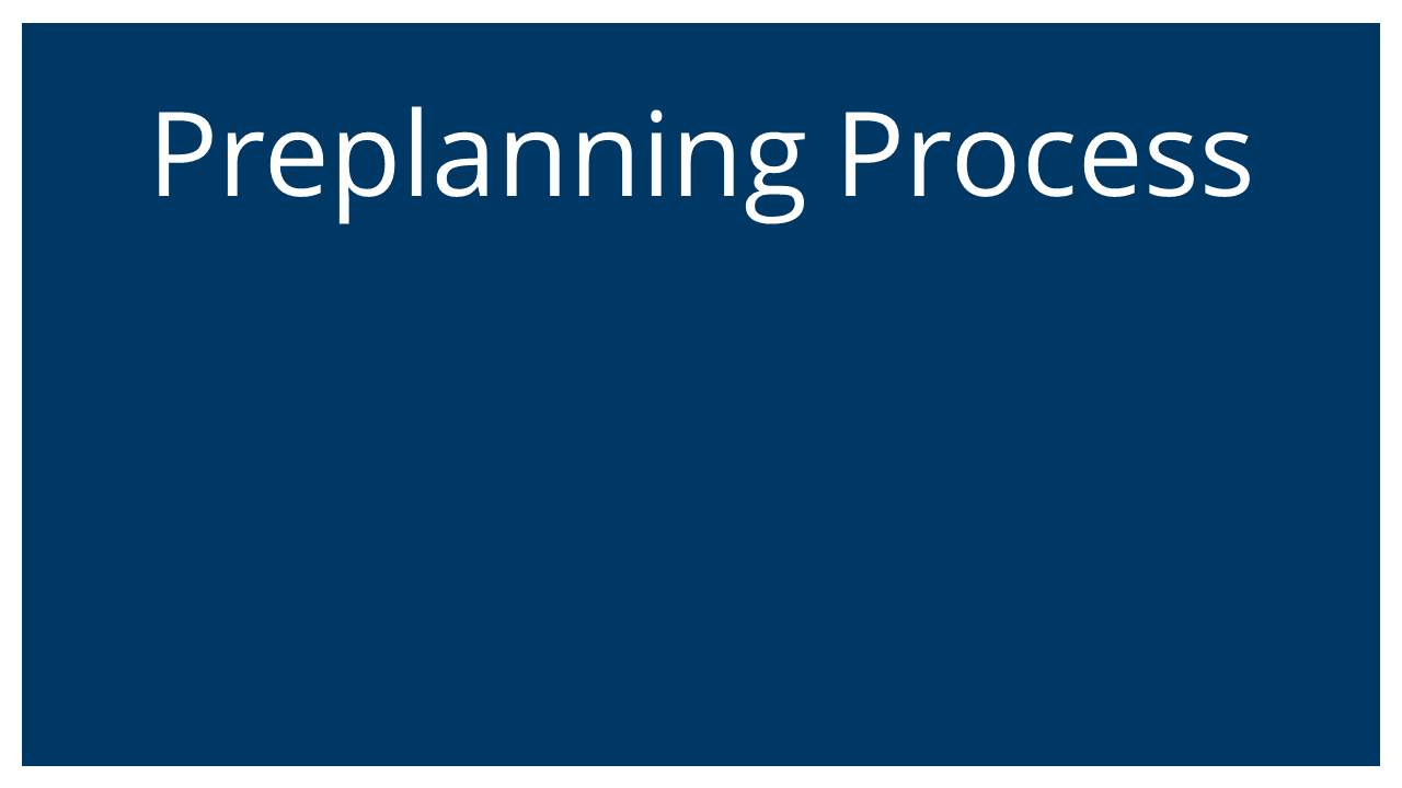 The Preplaning Process (Succession Planning & ESOPs Webinar)