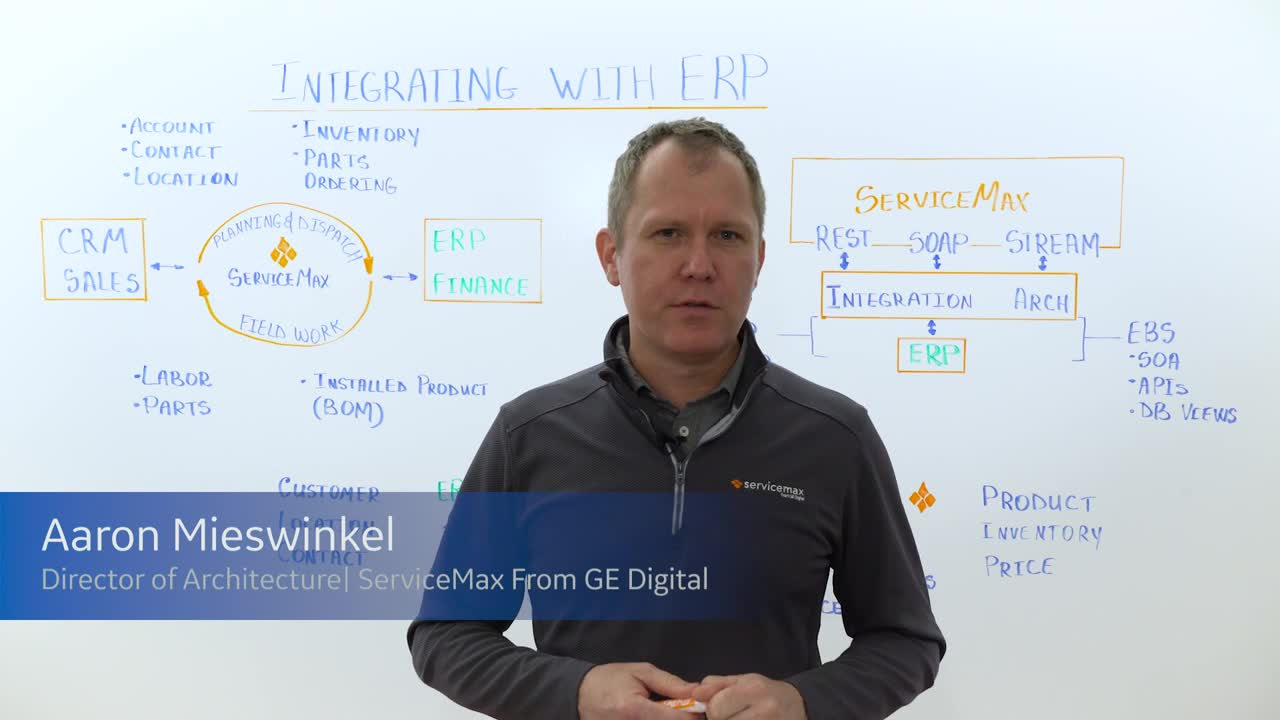 Maxpert Series: How to Integrate ServiceMax with Your ERP