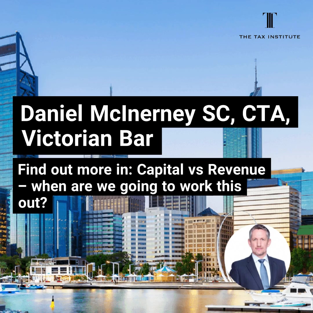 WA Tax Forum - Dan McInerney