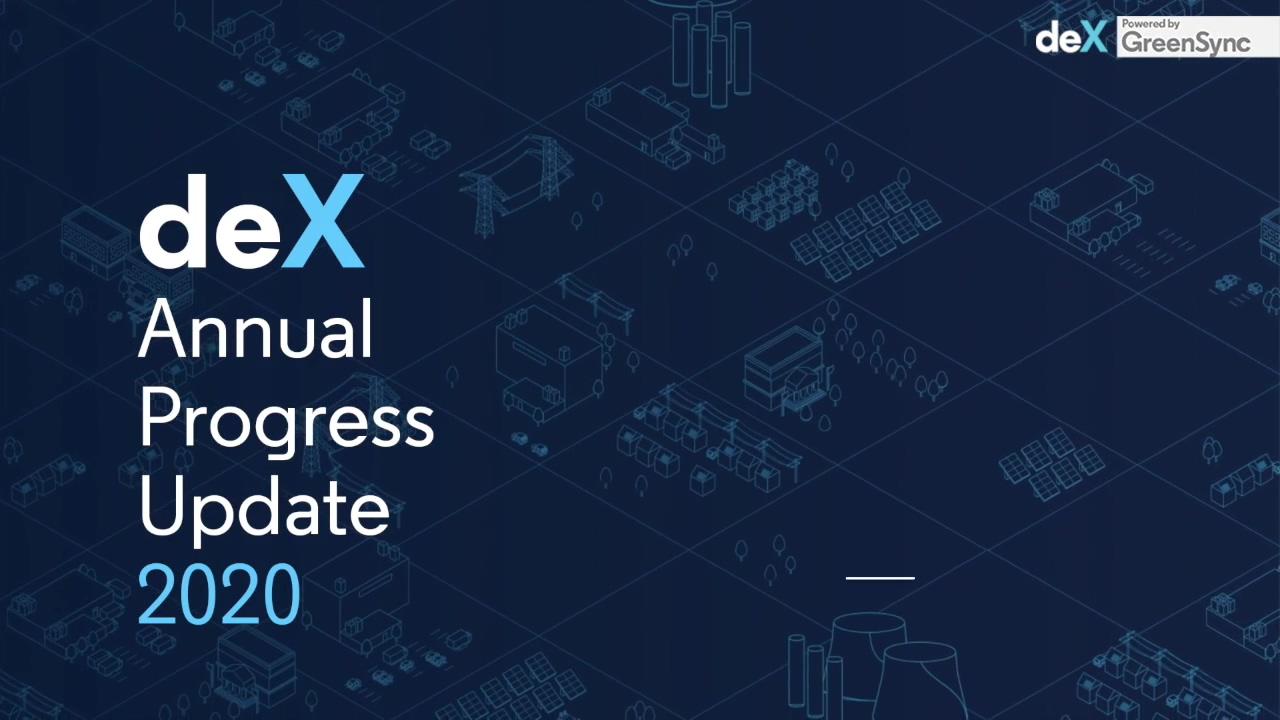 ARENA deX Annual Progress Update 2020