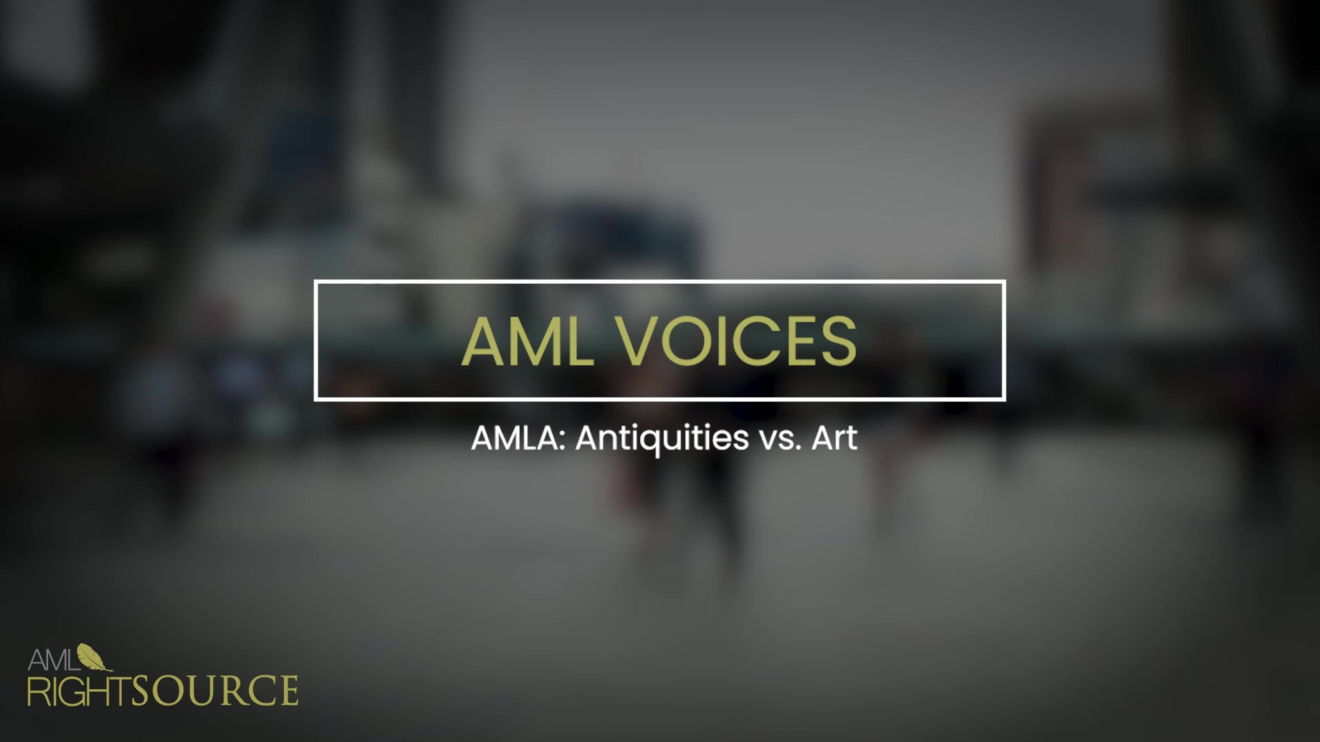AMLA Antiquities vs. Art