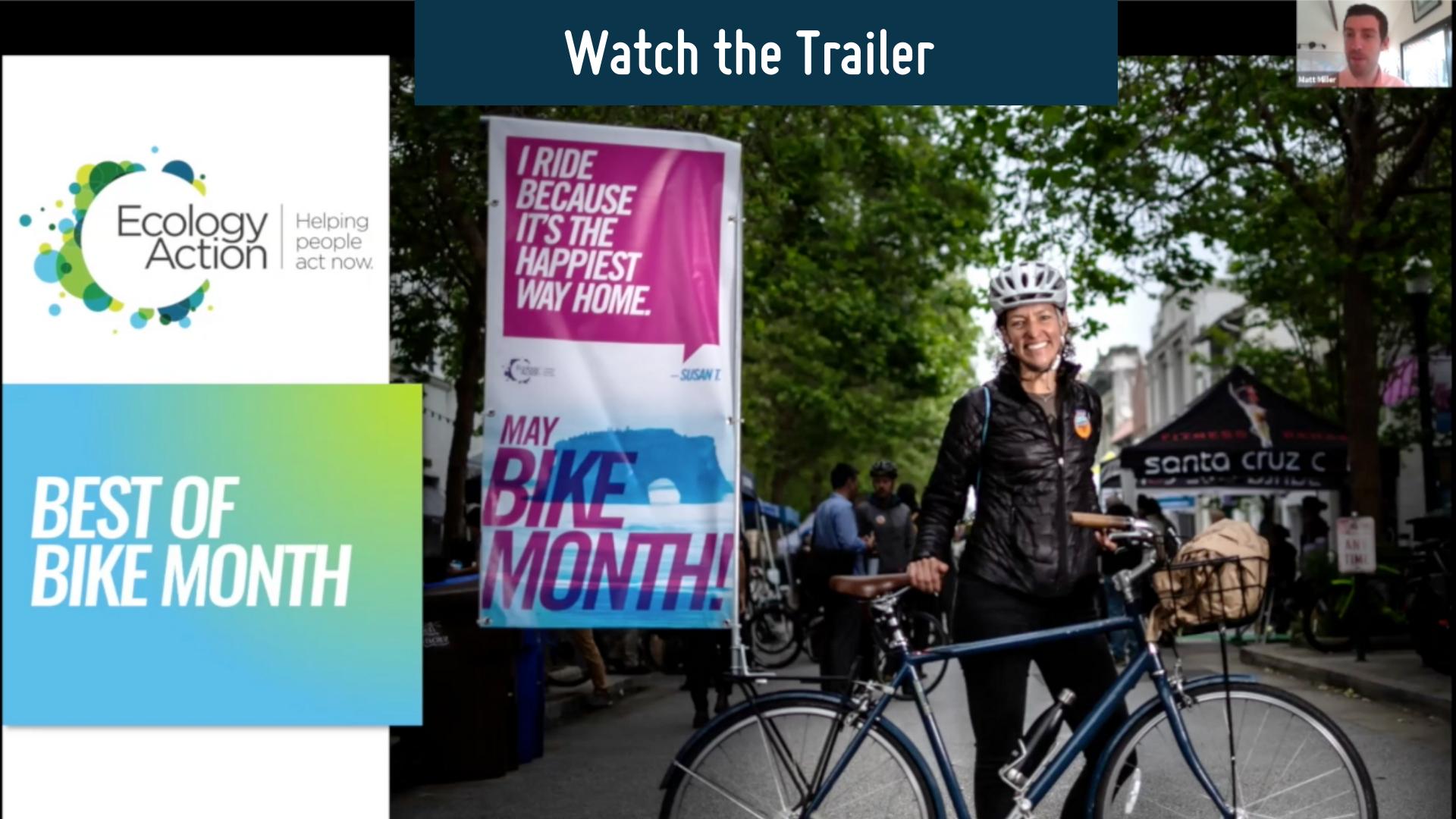 Bike Month Webinar Trailer