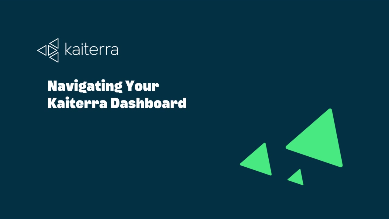 Navigating Your Kaiterra Dashboard