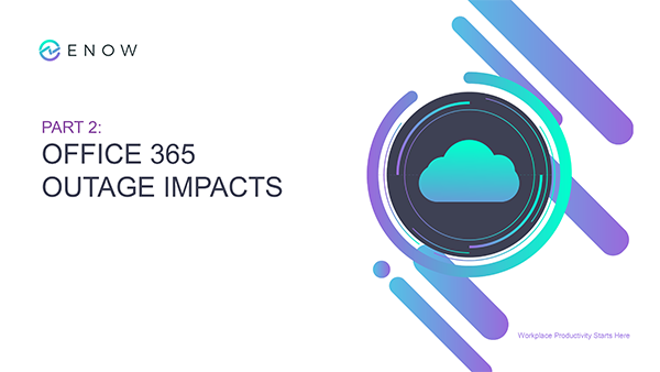 [Webinar Series] Office 365 Outage Impacts_ How to Triage & Prepare for Business Continuity (Part 2)