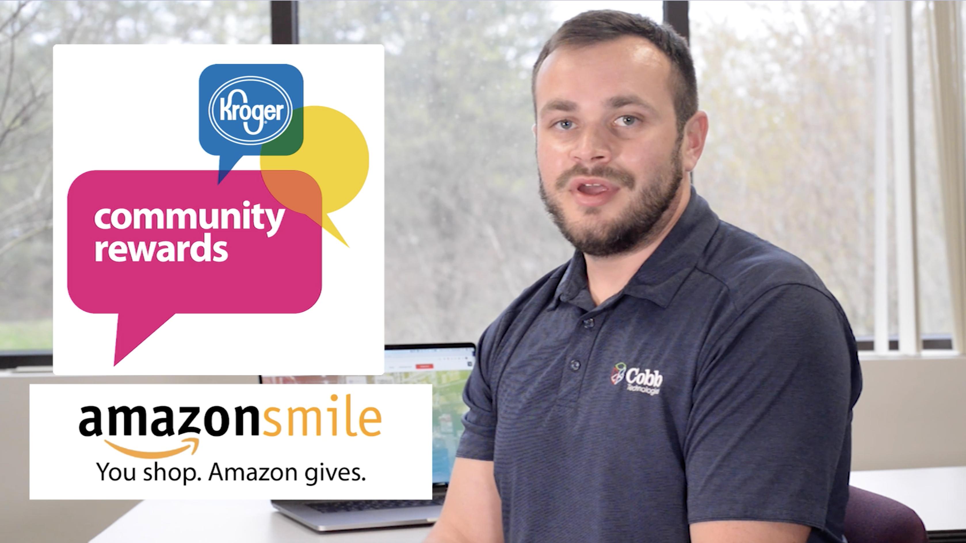 I2021 Amazon Smile Kroger Community Rewards Walkthrough Video