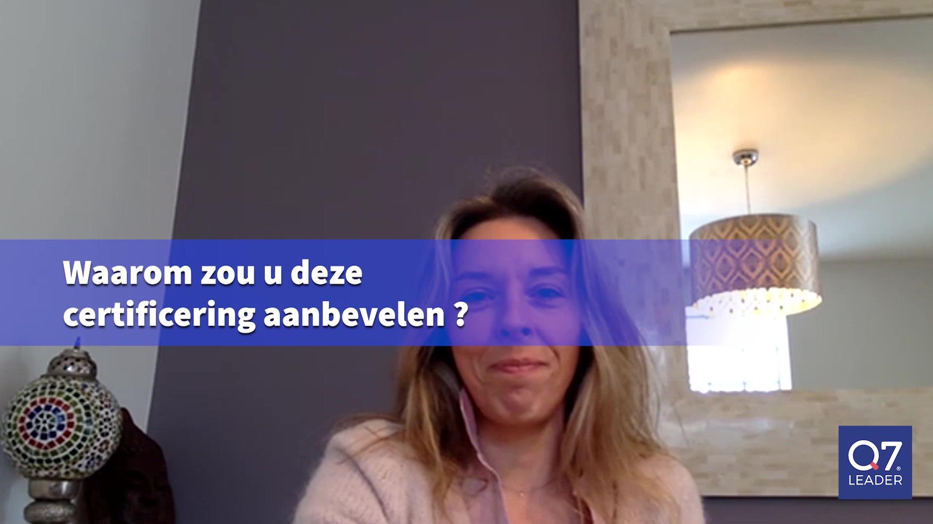 Getuigenis Caroline Paris Q7Leader Expert