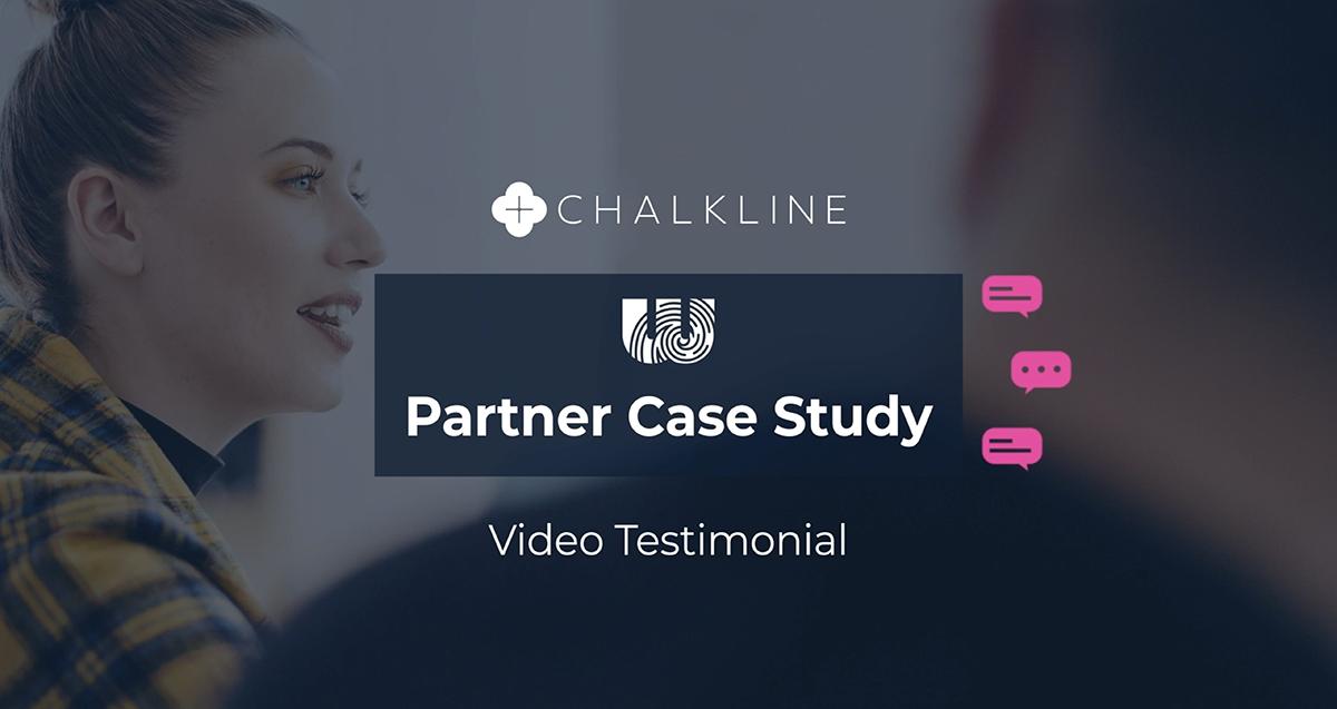 Partner Case Study Chalkline Video Testimonial