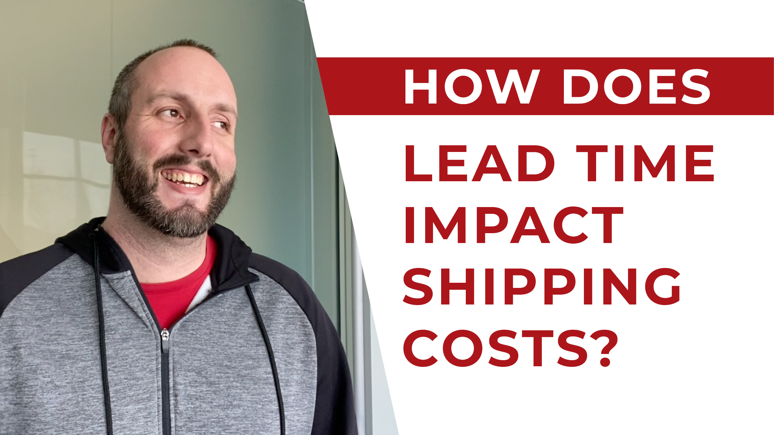 How Does Lead Time Impact Shipping Costs?