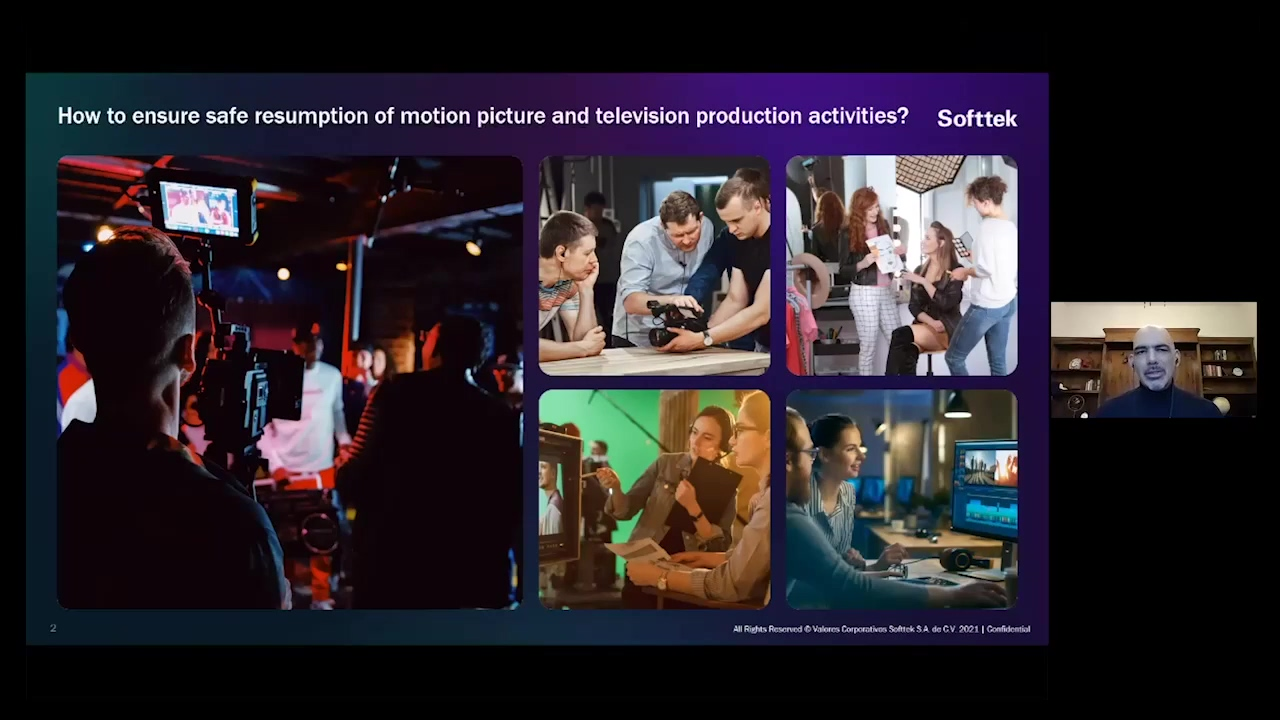 1 How to ensure safe resumption of motion picture and television