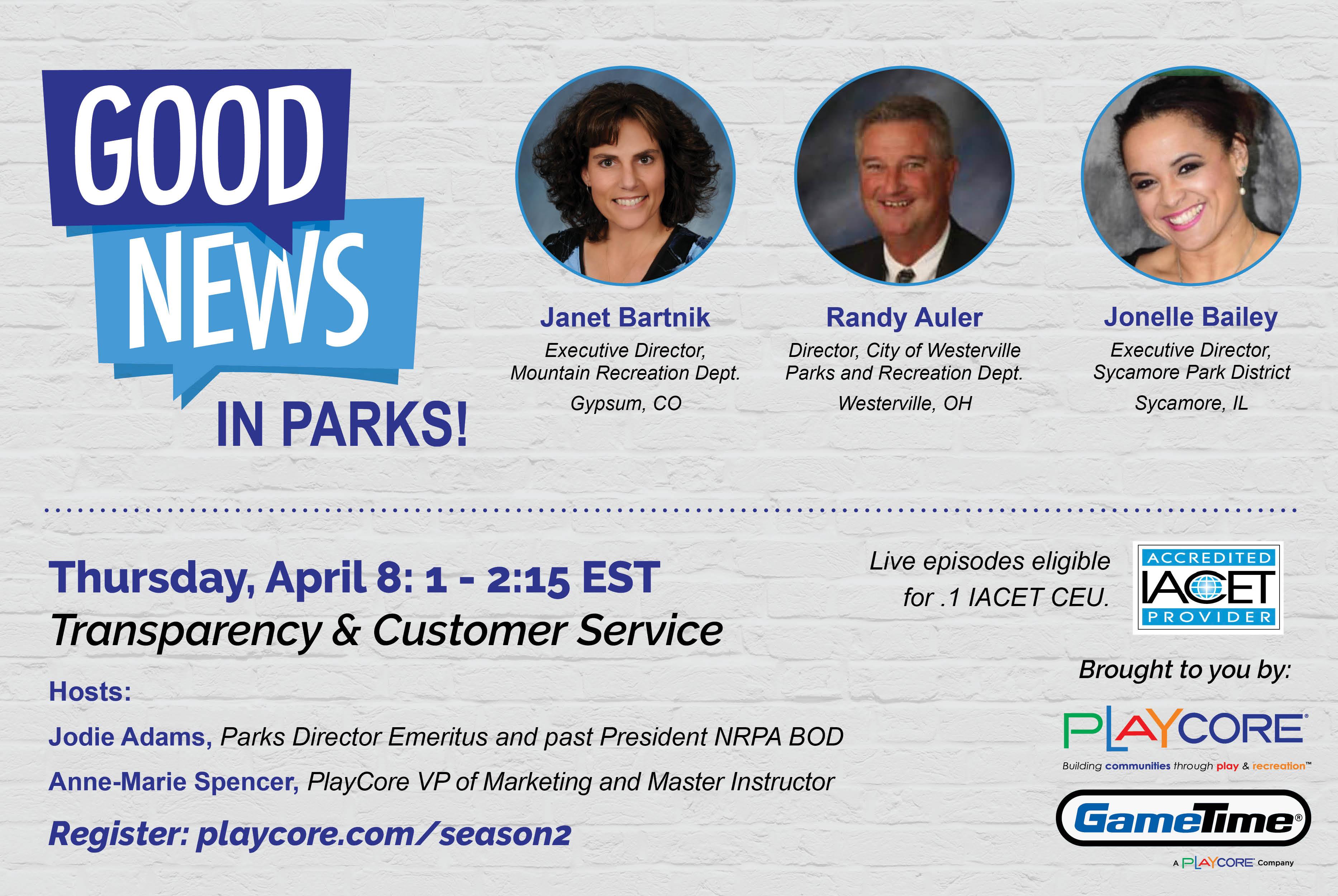 Good News in Parks - Season 2 Episode 4