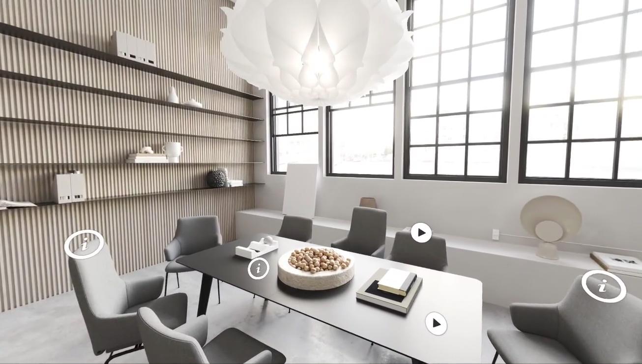 Ekornes Virtual Showroom