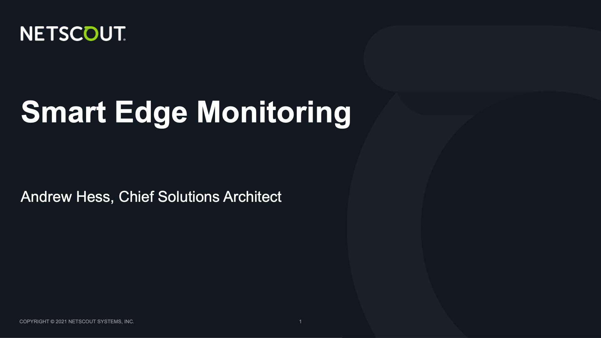 Omnis Smart Edge Monitoring Demo Video Thumbnail