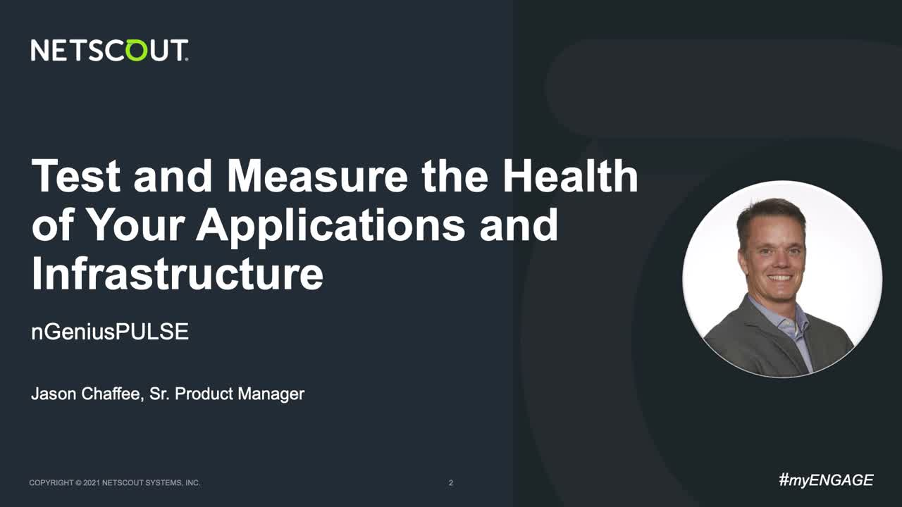 Application and Infrastructure Health