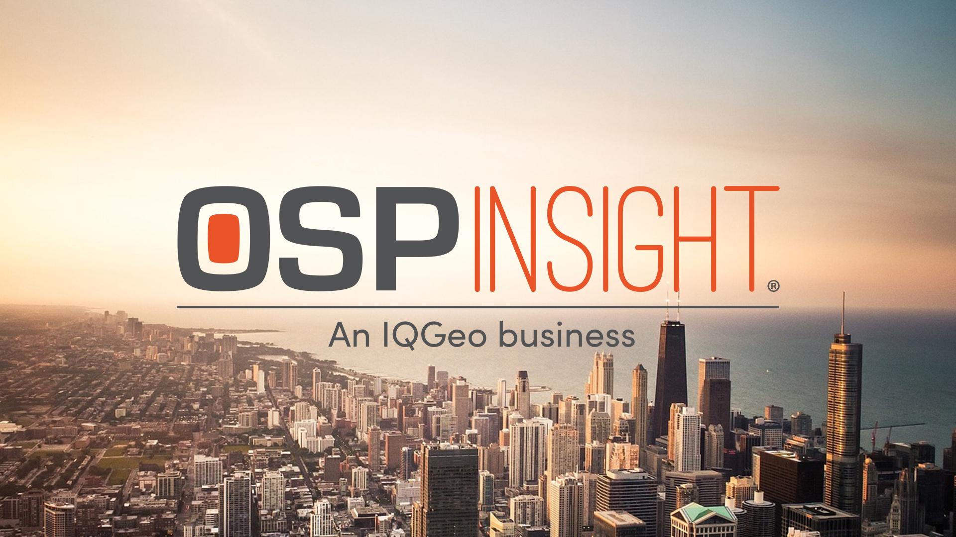 OSPInsight - An IQGeo business - Fiber Design & Management