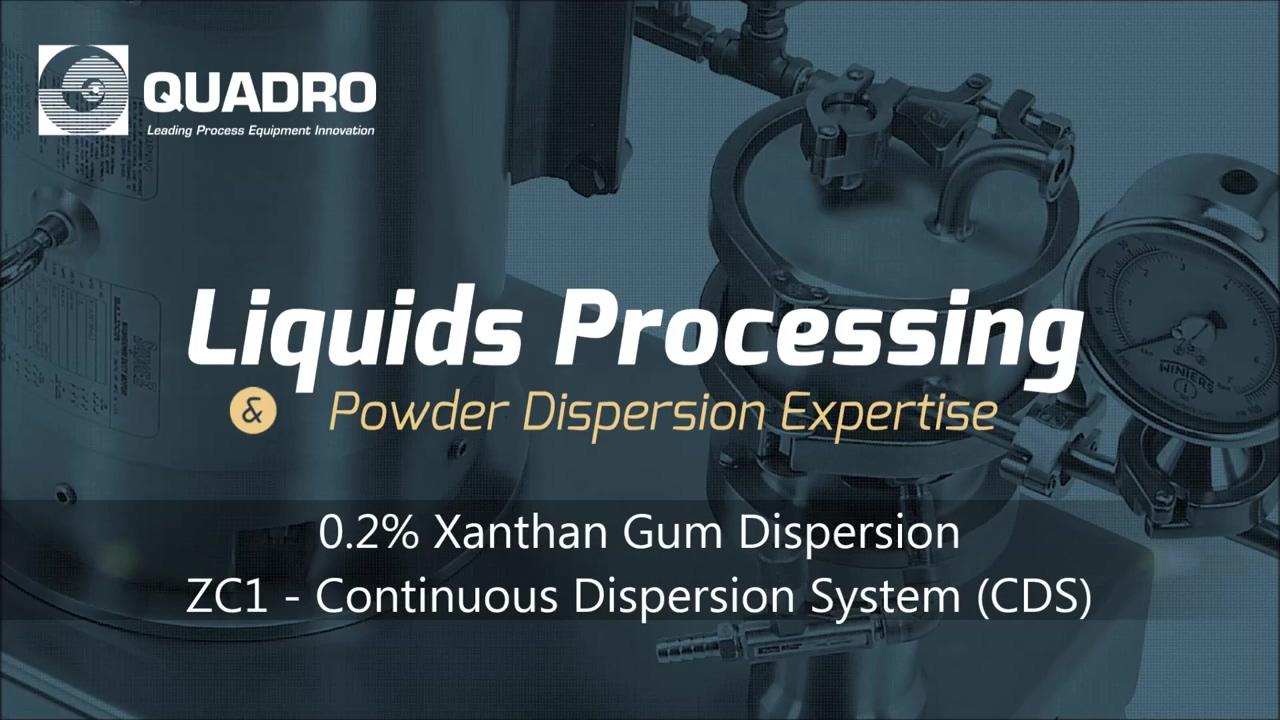 Xanthan Gum Powder Dispersion