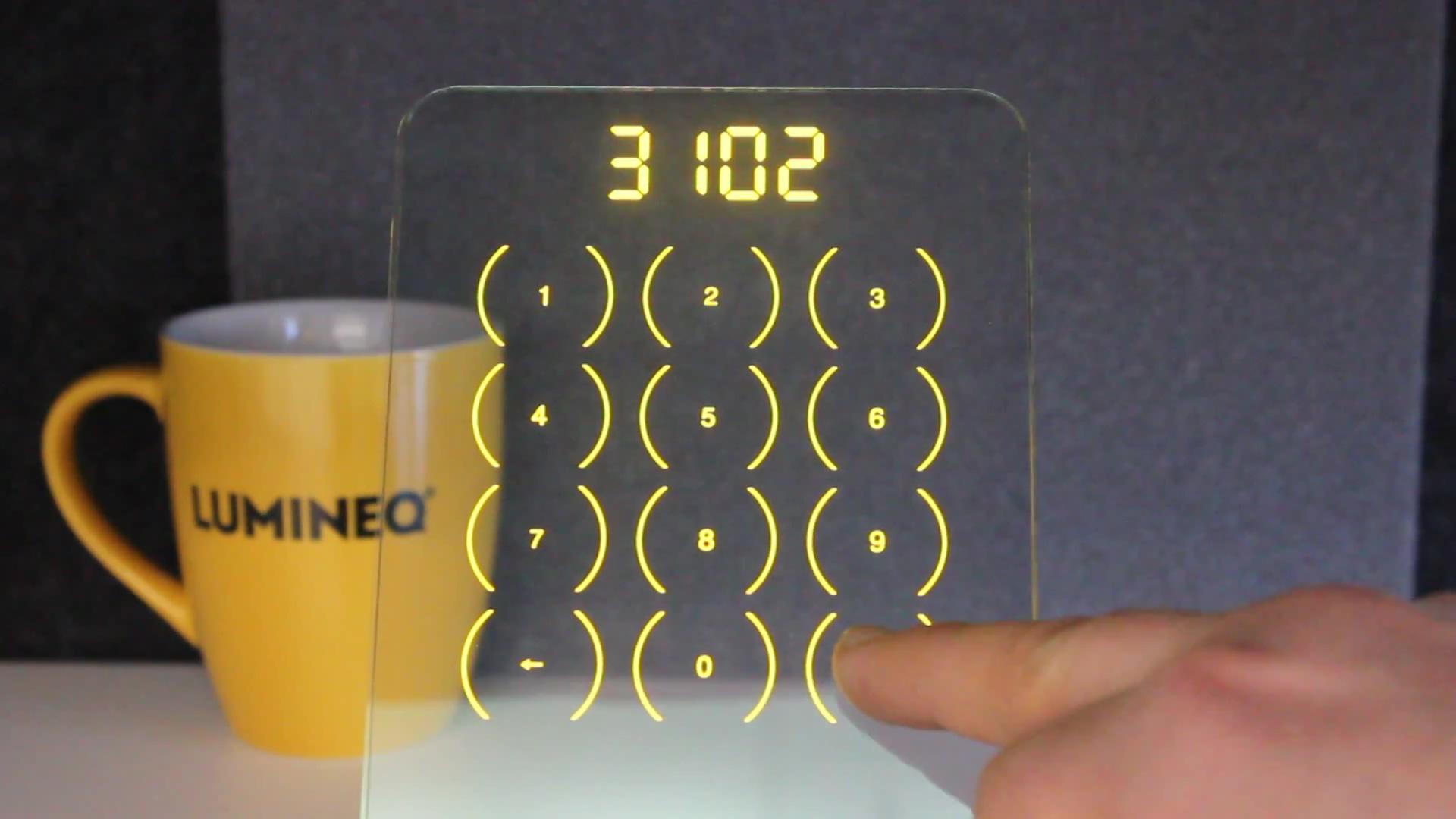 Keypad demo video