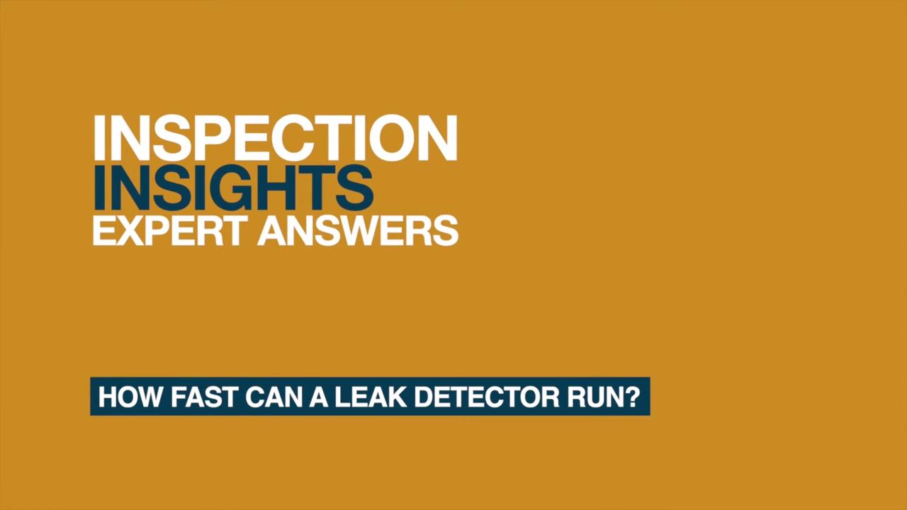 How fast will a leak detector run_ (1)