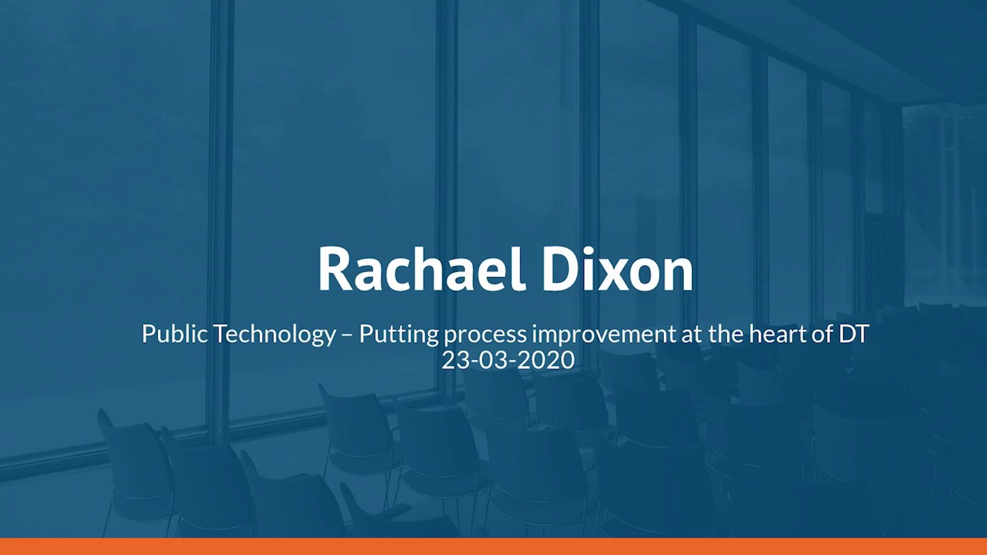 Rachael DIxon P T
