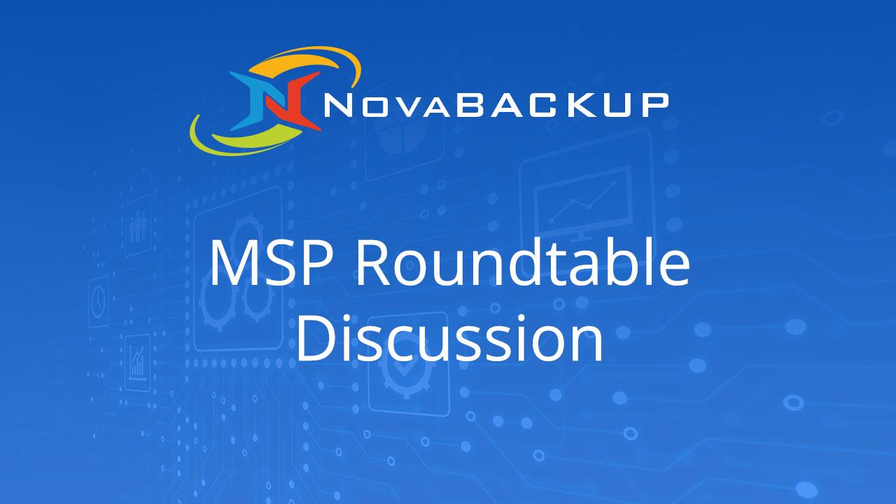 MSP NovaBACKUP Cloud Technical Discussion - February