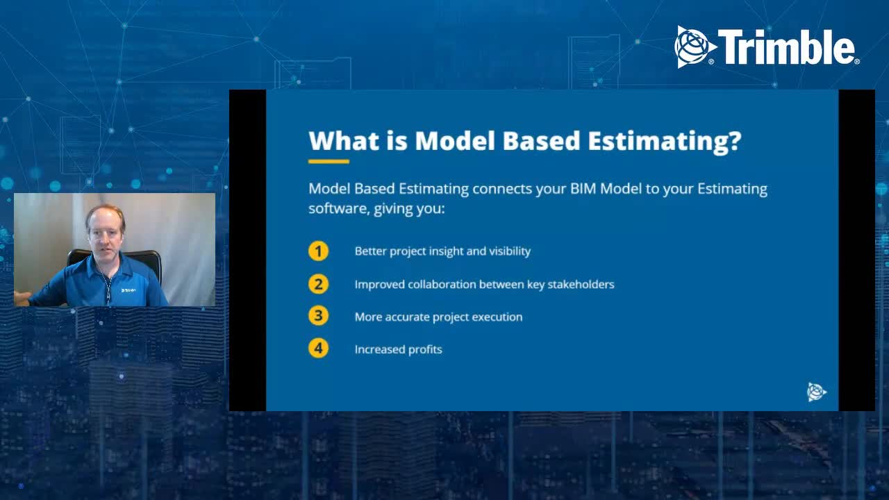 [Trimble MEP Special Event] The Next Evolution of Estimating