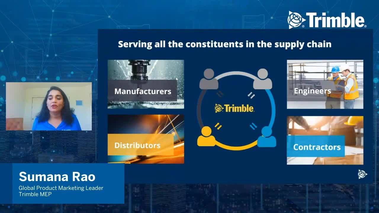 [Trimble MEP Special Event] Introducing Construction Xchange - The New Digital Supply Chain