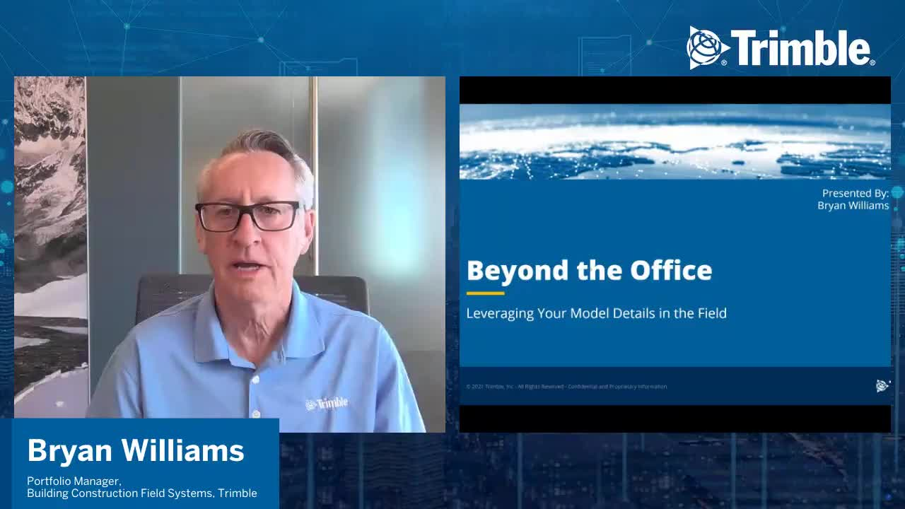 [Trimble MEP Special Event] Beyond the Office Leveraging Your Model Details in the Field