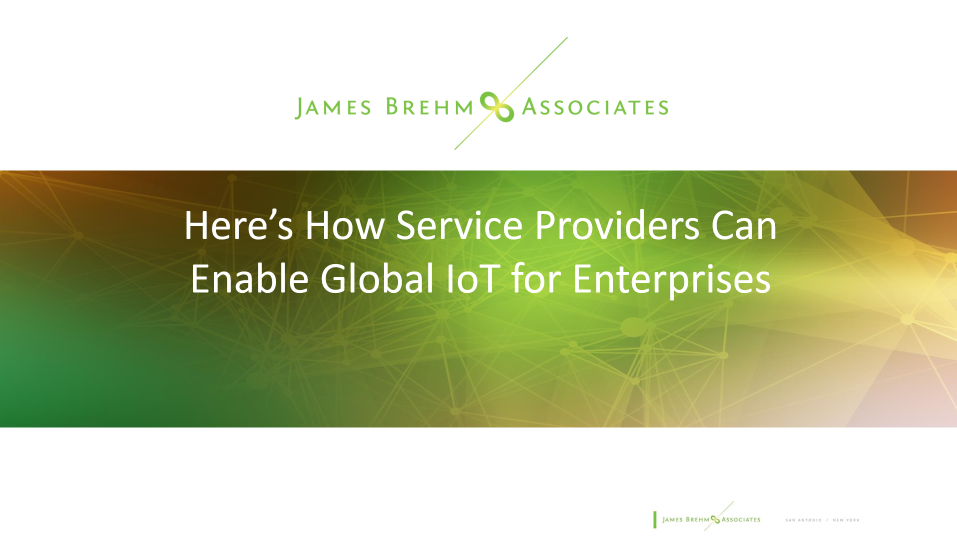 Here's How Service Providers Can Enable Global IoT for Enterprises (1)