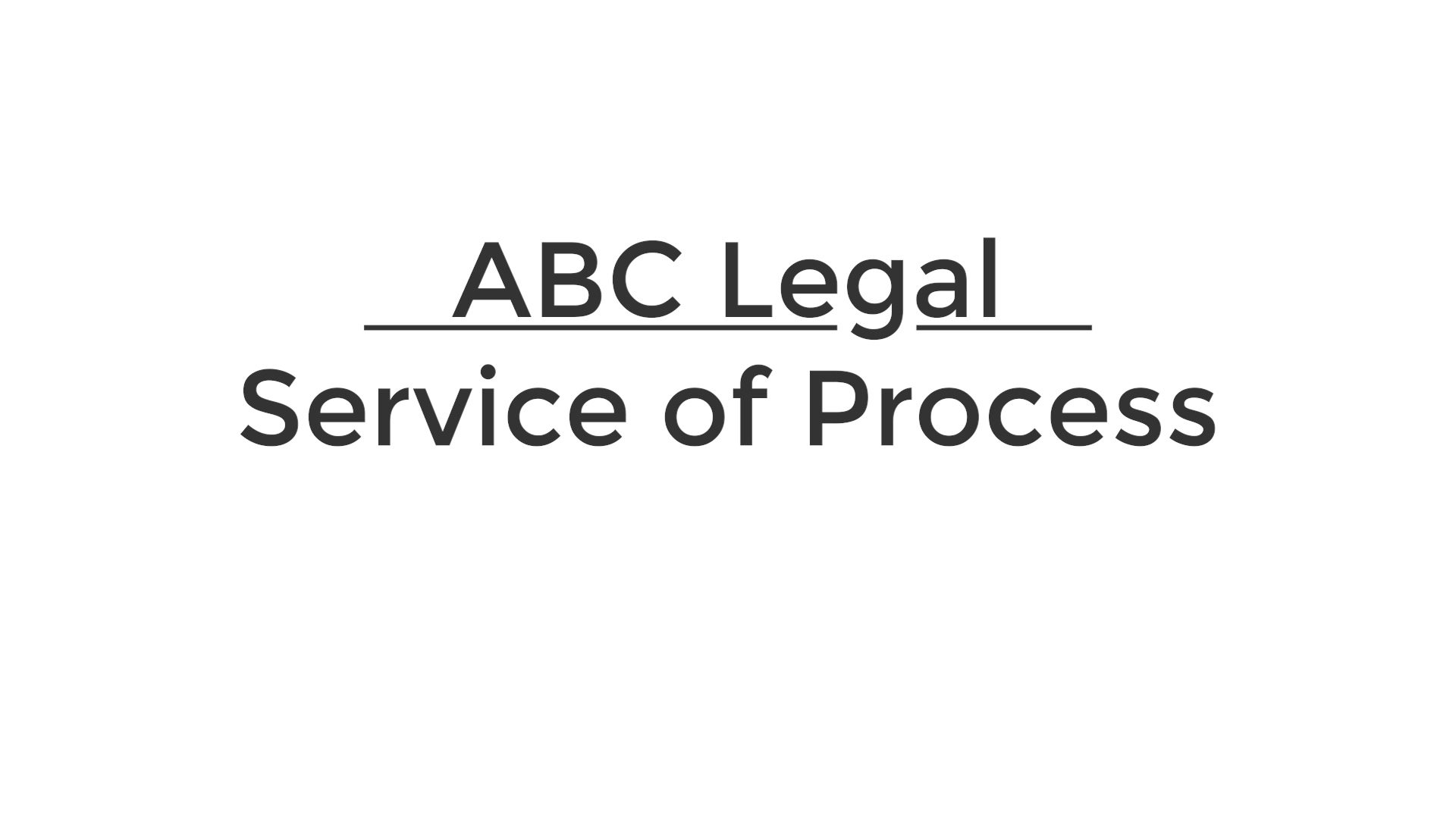 Intro to Service of Process 4.22.2021
