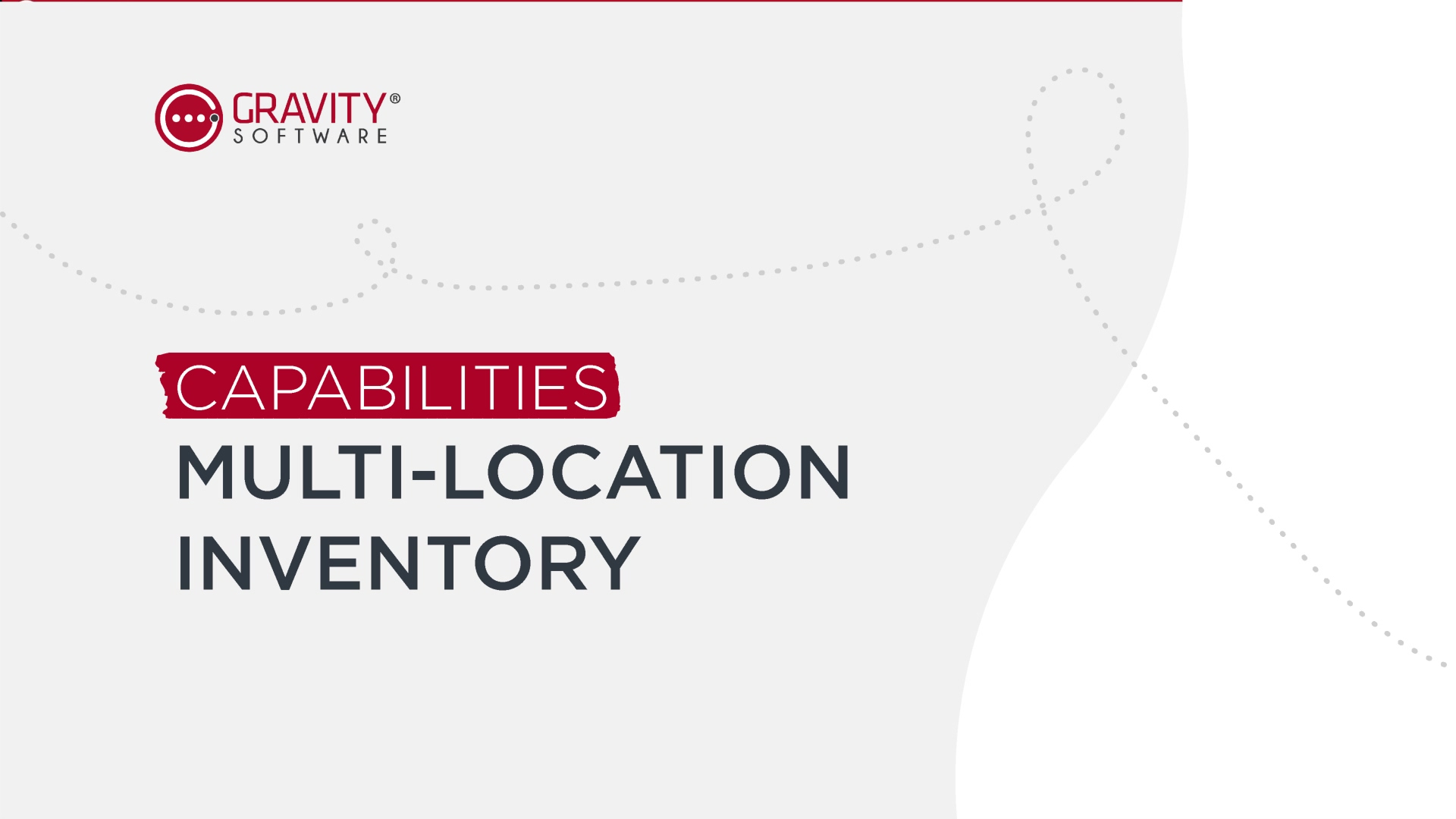 Gravtiy Software Inventory Management